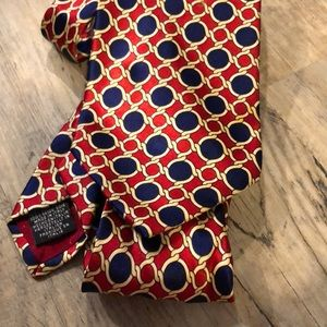 Beautiful Patterned 100% Italian silk Tie